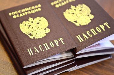 паспорт новый россия