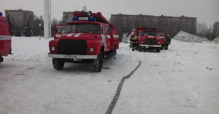 В Кирове пожарная машина