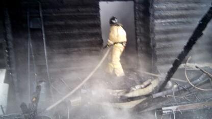 В Слободском пожар унес жизни пенсионерки и двух маленьких девочек