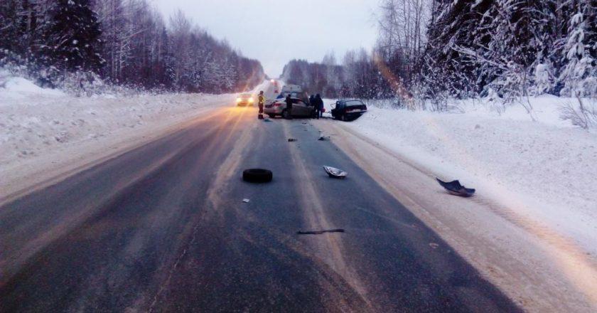 В Юрьянском районе в ДТП погибли два человека