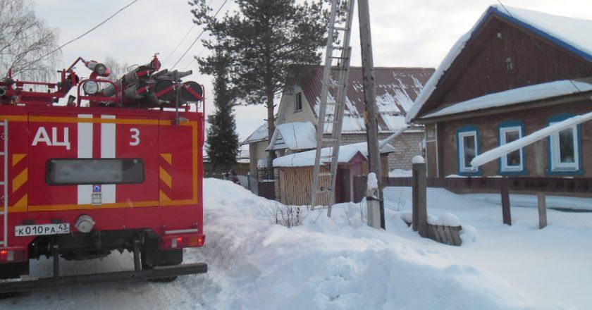 В Омутнинске в пожаре погибли два человека