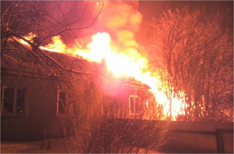 В Пижанке в пожаре сгорели четверо мужчин