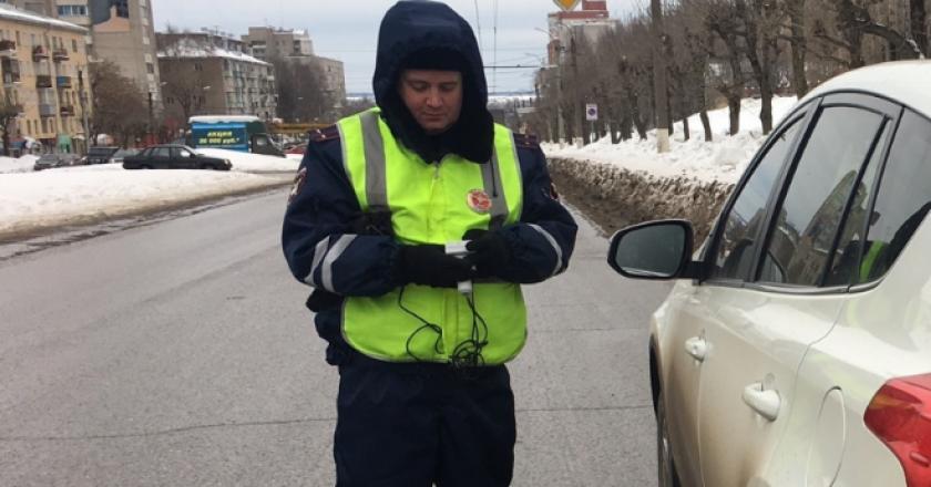 За выходные в Кирове задержали 15 пьяных водителей