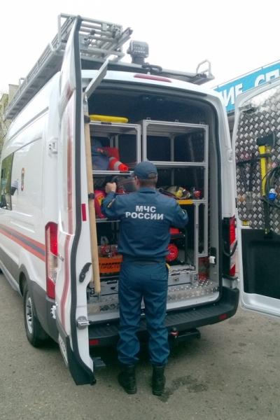 Кирово-чепецкие спасатели получили новую машину