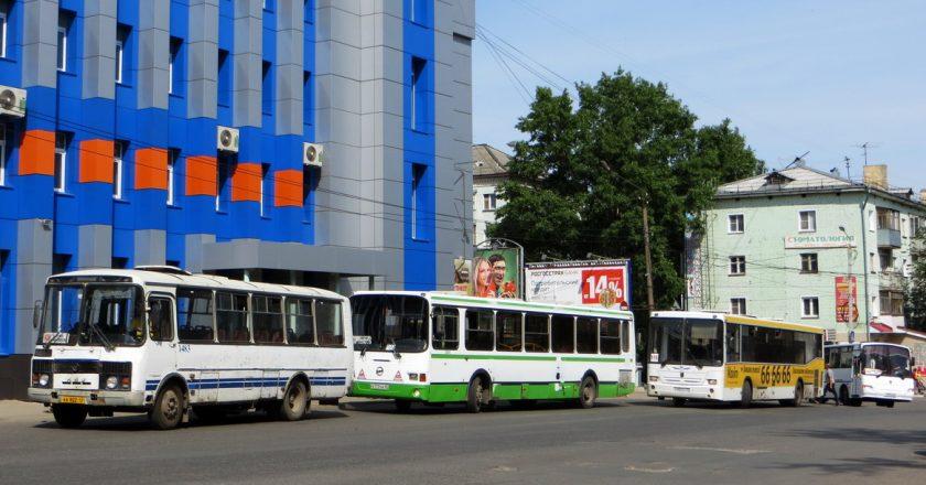 В Кирове запретят стоянку транспорта в районе автовокзала