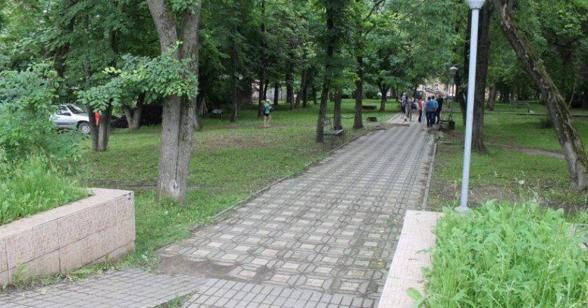 В Кирове благоустроят сквер у кинотеатра «Дружба»