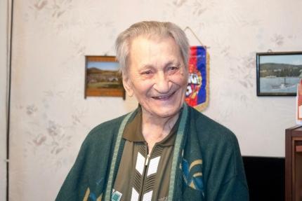 Ветерану МЧС сегодня исполнилось 99 лет!