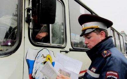 В Кировской области массово проверяют водителей автобусов