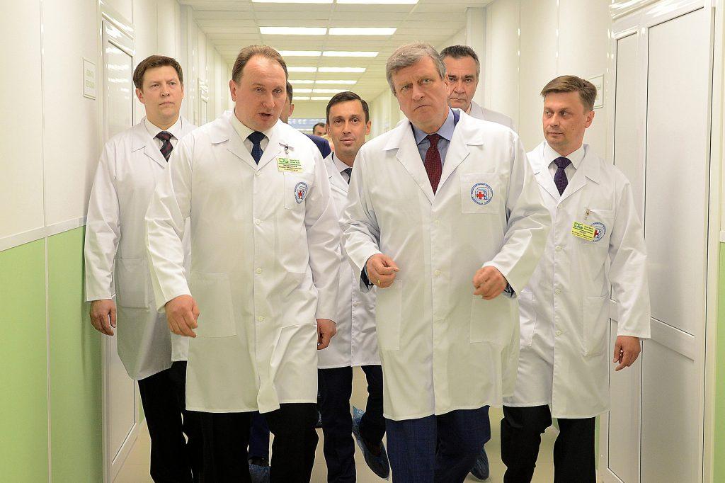 Игорь Васильев обсудил с Алексеем Кудриным участие Кировской области в реализации стратегии развития России до 2024 года