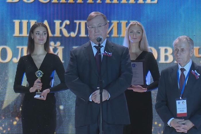 Николай Шаклеин награждён высшей юридической премией «Юрист года-2017»