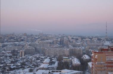 город киров зима