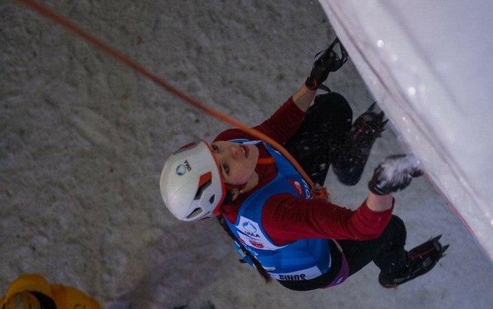 Успех кировских спортсменов на этапе Кубка мира по ледолазанию