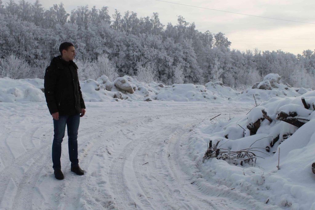 Активисты ОНФ обнаружили в Кирове несанкционированную свалку снега