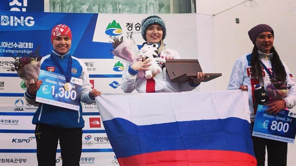 Кировские ледолазы завоевали 6 медалей этапа Кубка мира в Корее