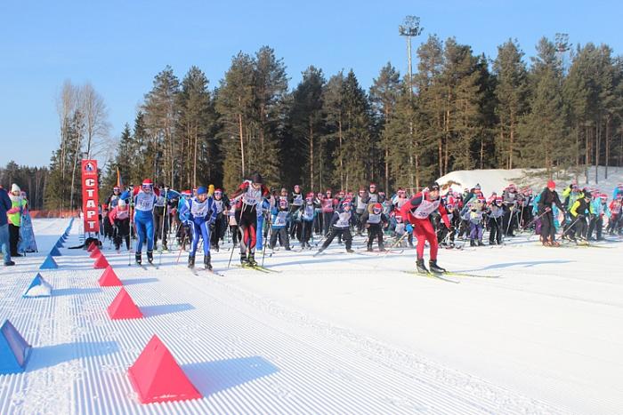 В «Лыжне России» приняли участие более пяти тысяч жителей Кировской области