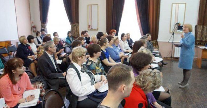 На базе региональной инновационной площадки ВятГУ успешно прошел Фестиваль школьных филологических проектов