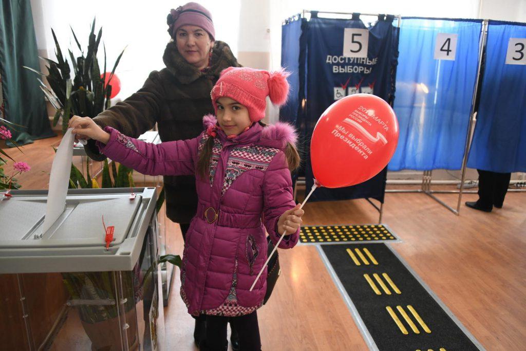 Приволжье стало лучшим на президентских выборах по явке и чистоте голосования