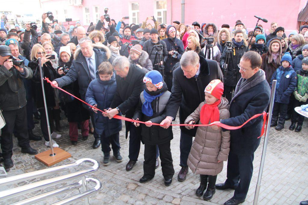 В Кирове торжественно открыли Детский космоцентр