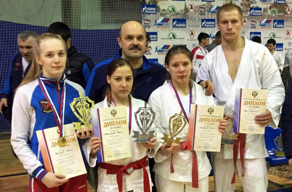 Чемпионки России по рукопашному бою живут в Кирове