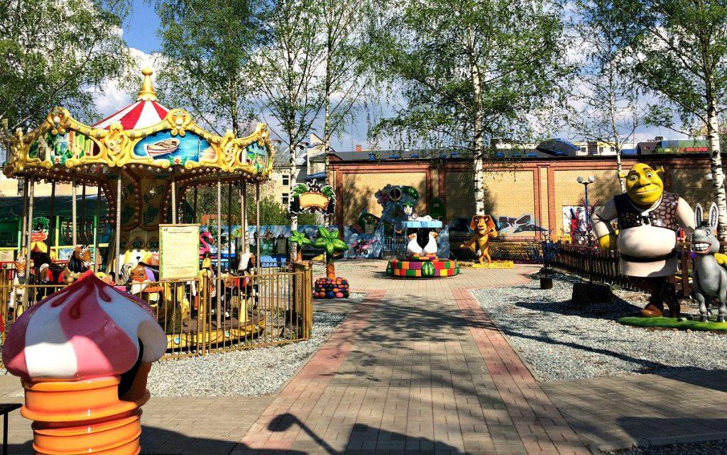 В парке Гагарина появится первая в городе уличная батутная арена