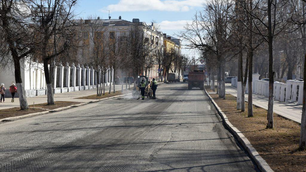 20 апреля в Кирове стартовал масштабный ремонт дорог