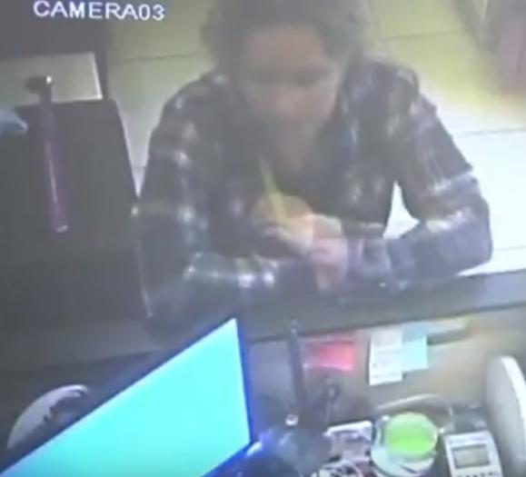 Устанавливается личность подозреваемой в грабеже