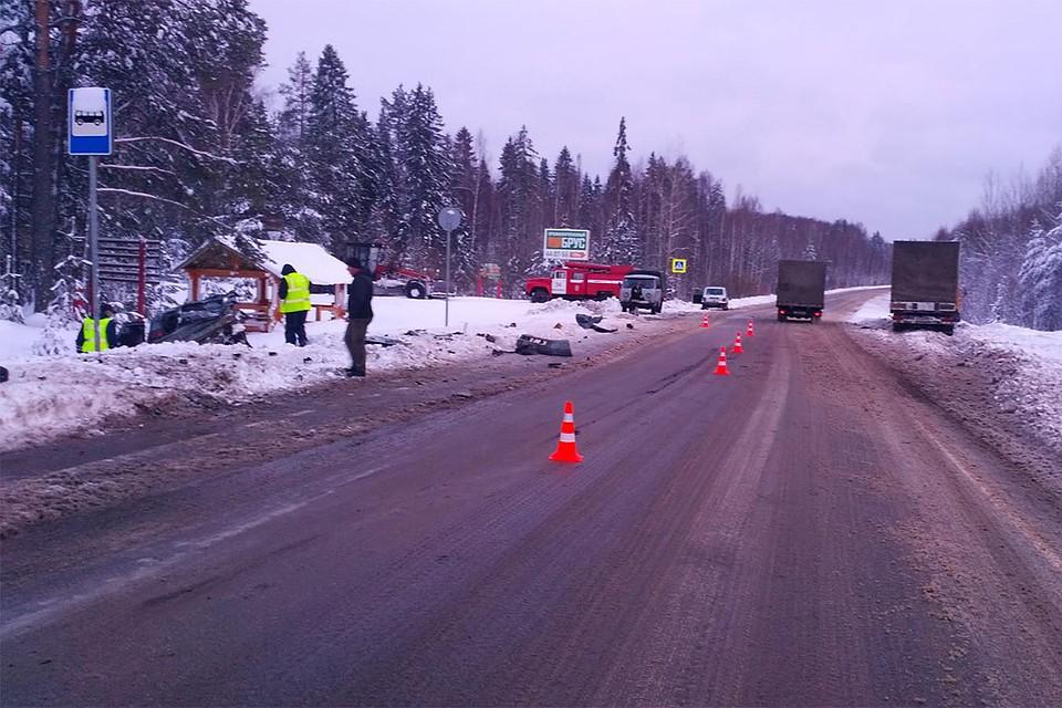 В Верхошижемском районе столкнулись «ВАЗ» и «КамАЗ»: один человек погиб