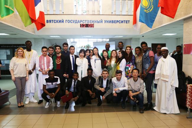 Иностранные обучающиеся познакомили студентов и преподавателей ВятГУ с культурными традициями своих стран