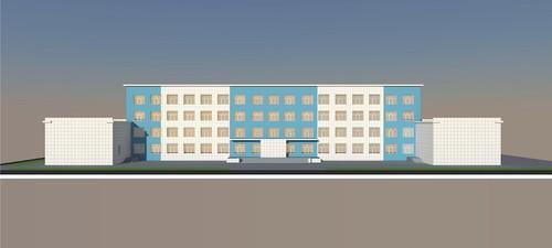 Фасад Кировского авиационного техникума будет отремонтирован к концу июня