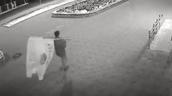 Кировские полицейские разыскивают причастных к хищению флагов