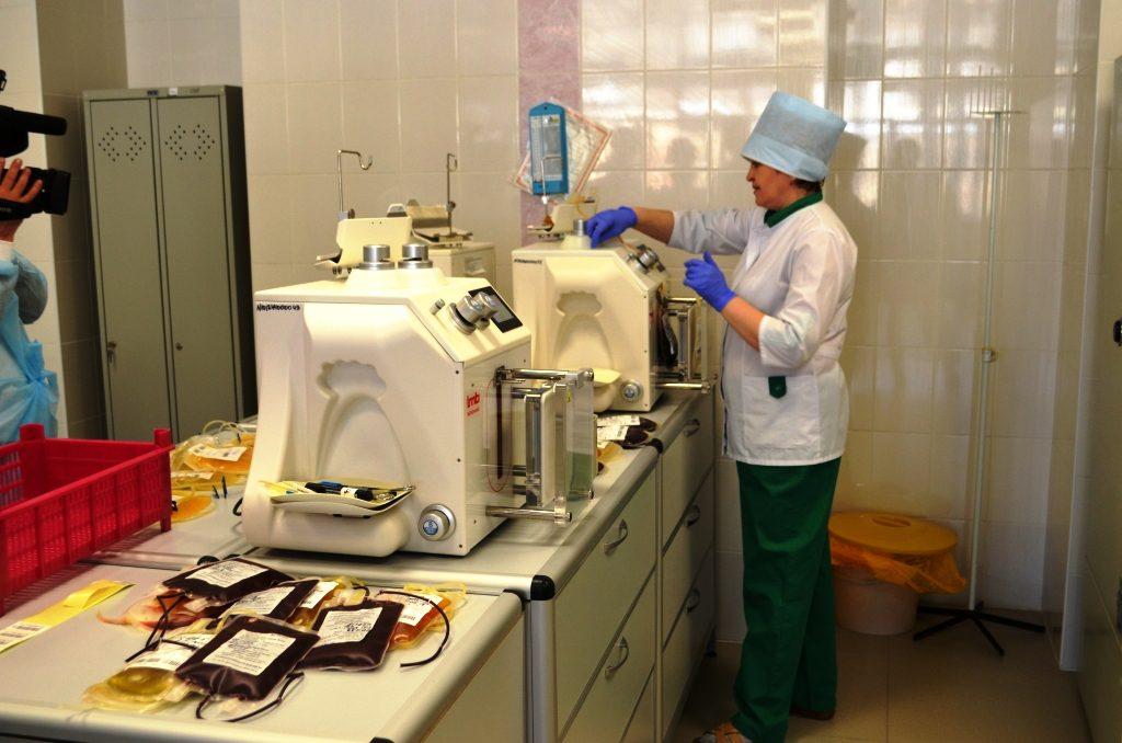 В НИИ гематологии и переливания крови открылось новое отделение лучевой и эндоскопической диагностики