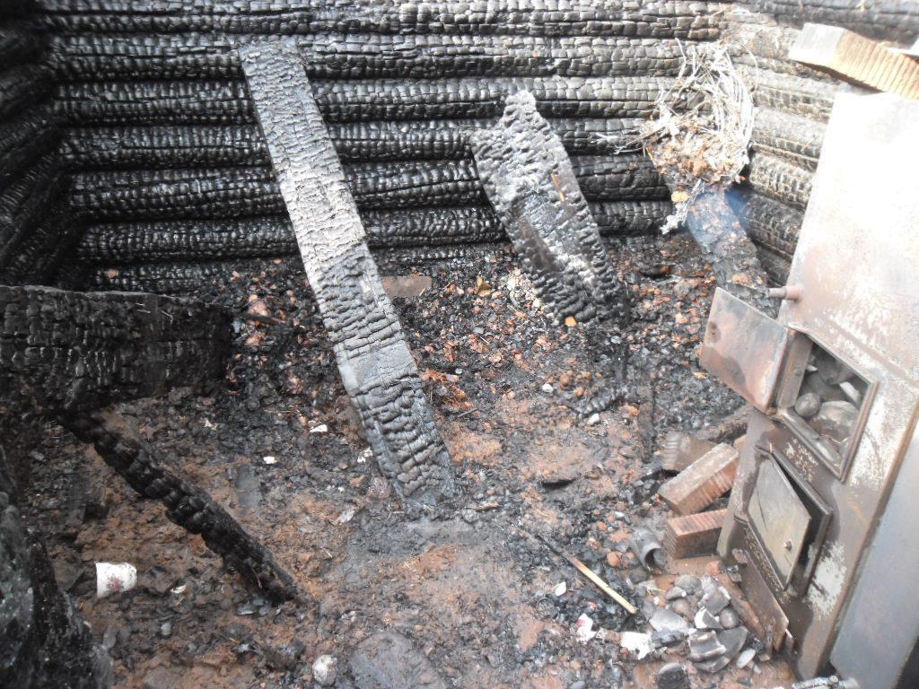 пожар в кирове сгорело до тла