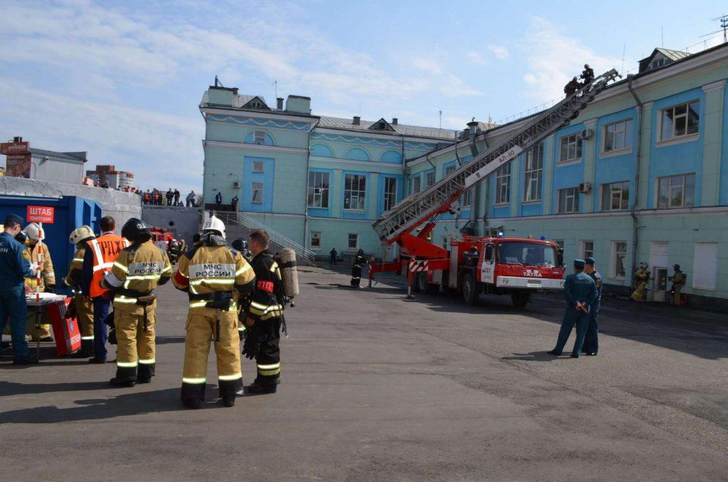 В Кирове из-за учений на вокзале эвакуировали пассажиров