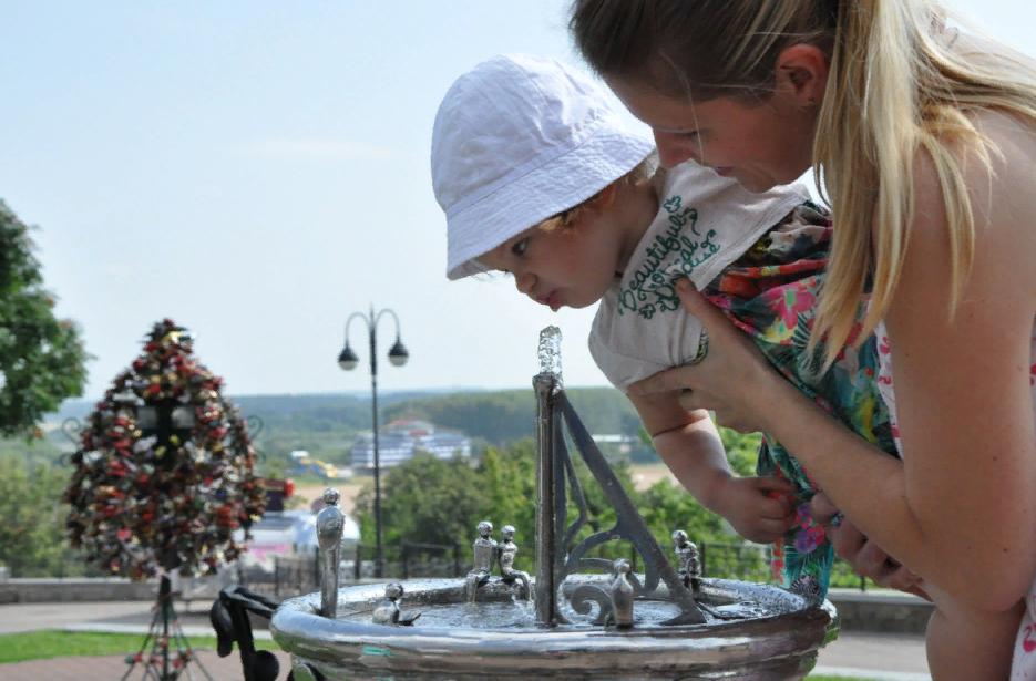 В Кирове заработали питьевые фонтанчики