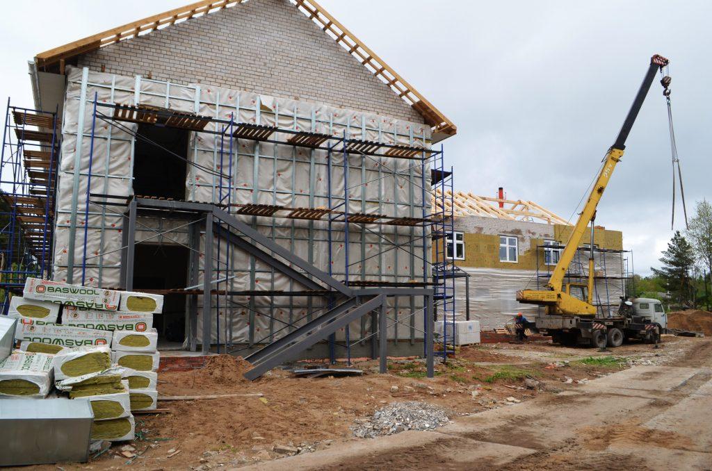 Строительство детского сада в Сидоровке