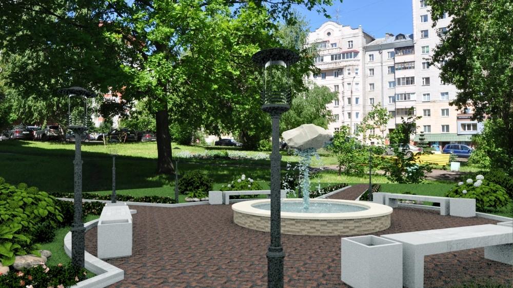 В Кирове появится еще один благоустроенный сквер