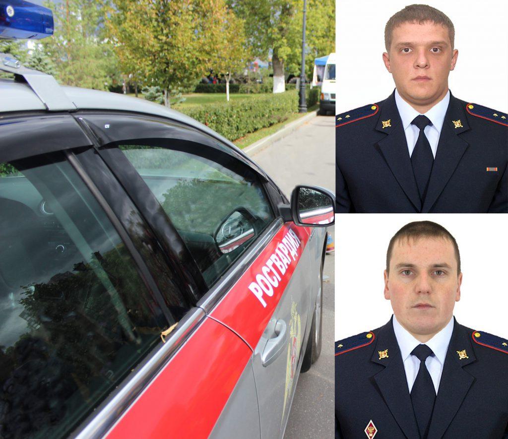 В Кирове сотрудники Росгвардии вынесли человека из горящей квартиры