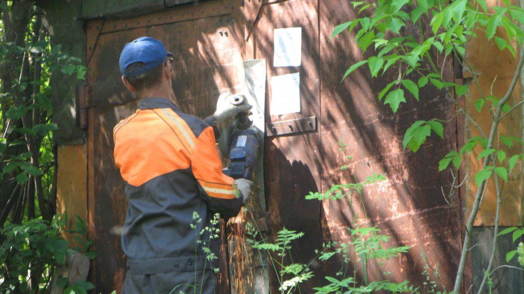 В Нововятском районе продолжается демонтаж незаконных построек