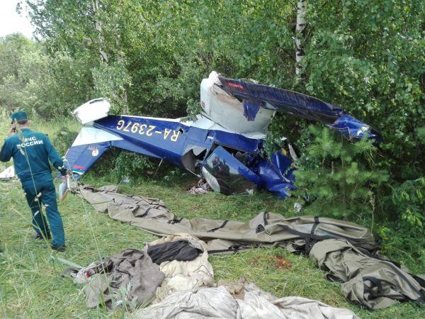 Самолет совершил жесткую посадку в Кировской области