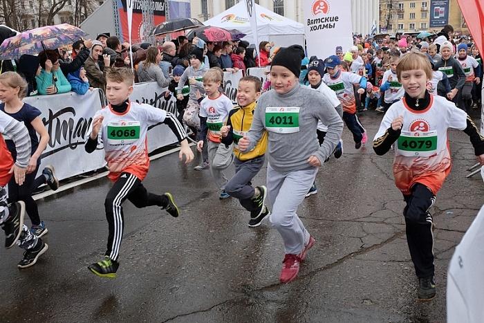 Полумарафон «Вятские холмы» собрал порядка двух тысяч участников