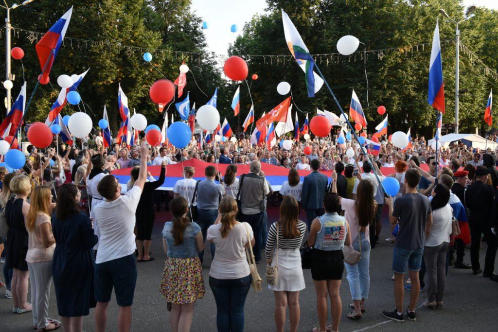 В Кирове установят 7-метровый триколор