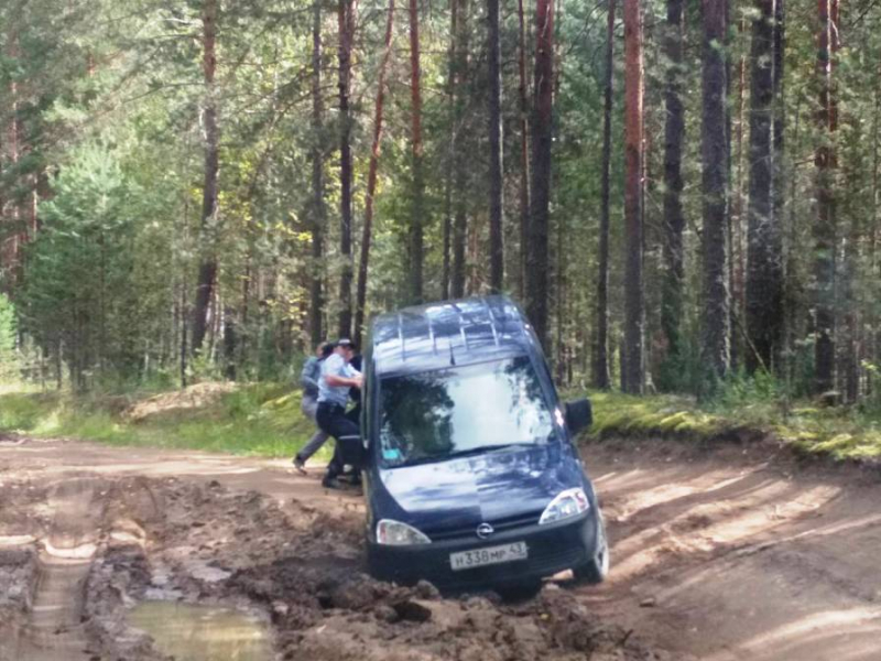 В Кировской области сотрудники ГИБДД оказали помощь автоледи