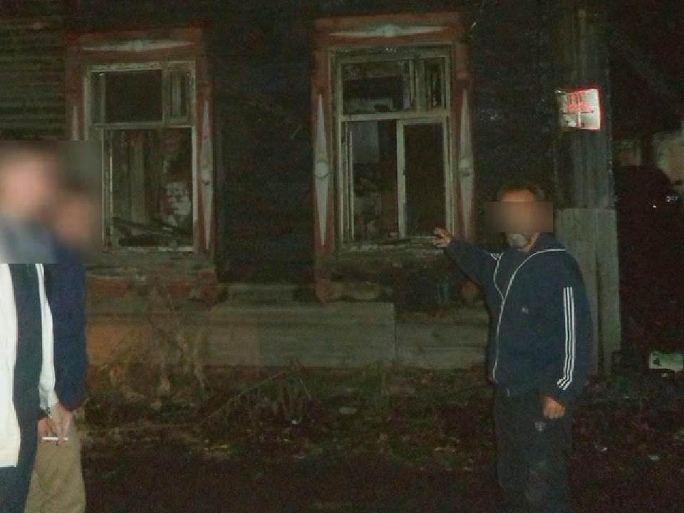 В Кирове задержали поджигателя дома на Блюхера