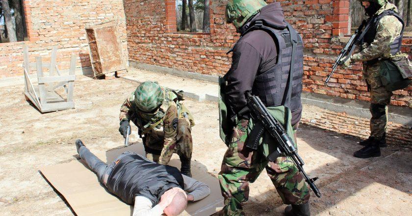 Бойцы кировского СОБРа помогли задержать банду разбойников
