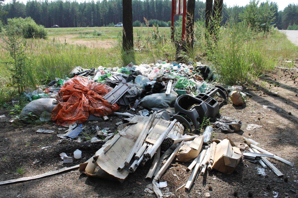 В лесу под Кировом нашли свалкуВ лесу под Кировом нашли свалку с опасными отходами с опасными отходами