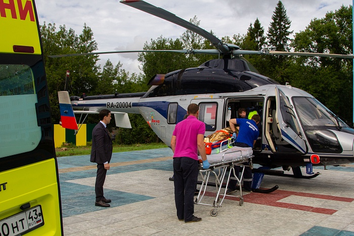 8 Августа 2018, 12:46 В Кирове открылась четвертая вертолетная площадка