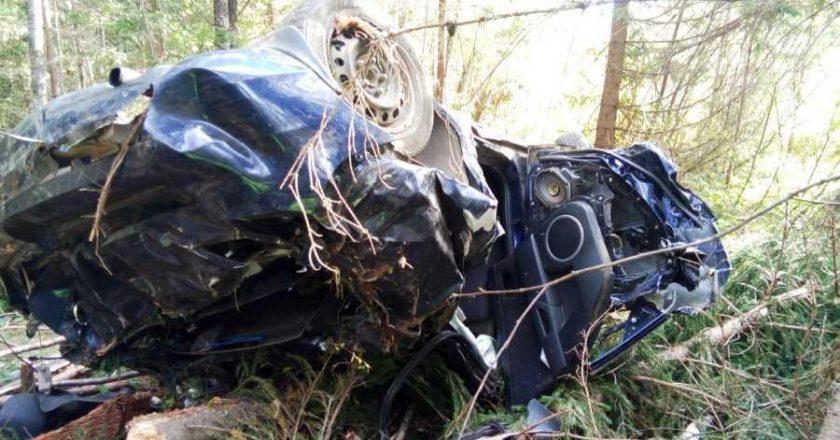 В Слободском районе в ДТП погибла 49-летняя пассажирка «Мазды»
