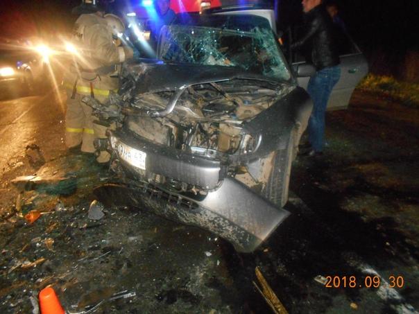В Кирове при столкновении двух иномарок погиб мужчина