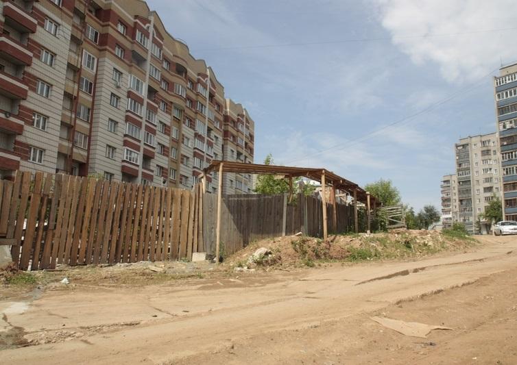 В Кирове снова перенесли строительство улицы Сурикова