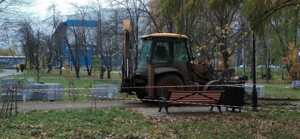 Илья Шульгин запретил подрядчику прокладывать ливнёвку в снег